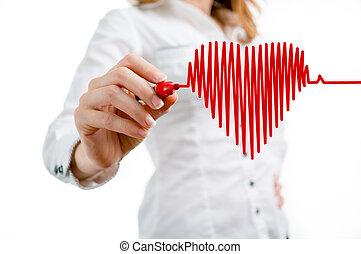 latido de corazón