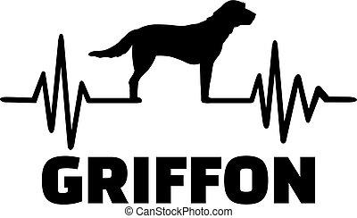 latido del corazón, griffon, palabra