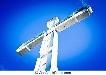 latim, crucifixos