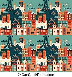 latim, junho, pattern., seamless, feriado, americano, partido, brazil.
