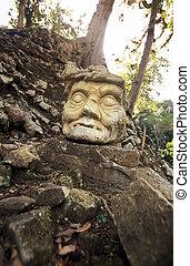LATIN AMERICA HONDURAS COPAN - The Ruins of Copan in...
