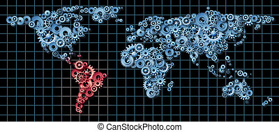 latin-amerika, gazdaság