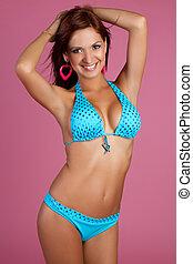 Latin Bikini Girl