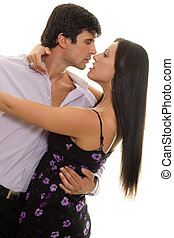 Latin Dance - Couple dancing,