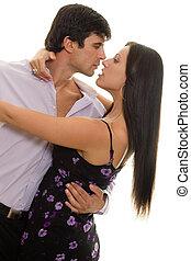Latin Dance - Couple dancing,