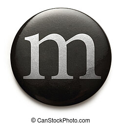 Latin letter m - Single lowercase latin letter m