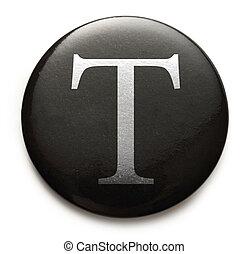 Latin letter T