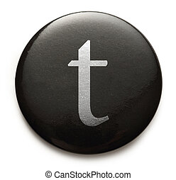 Latin letter t - Single lowercase latin letter t