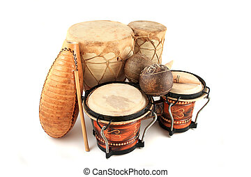 latin, ritmus, műszerek