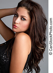 Latin Woman - Beautiful sexy latin woman posing