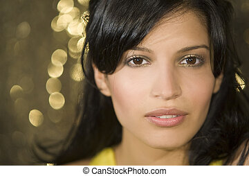 Latina Beauty - A stunningly beautiful young hispanic woman...