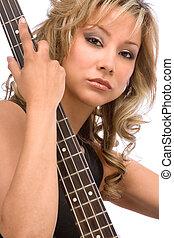 Latina guitarist
