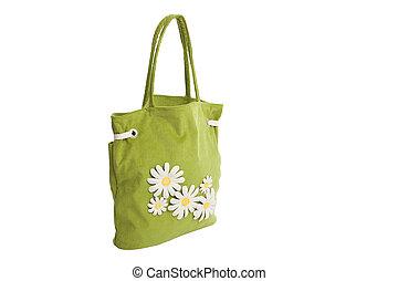 lato, bach, camomile, torba, aplication, zielony