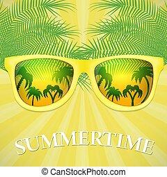 lato, chorągiew, czas