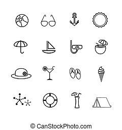 lato, ikony
