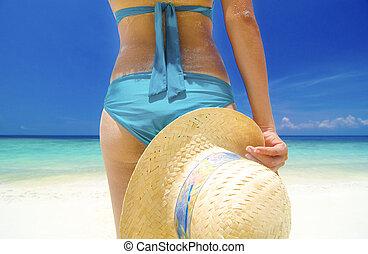 lato, plaża