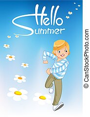 lato, powitanie