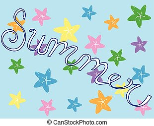 lato, rozgwiazda