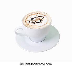 .latte, コーヒー, 白いチョコレート