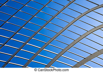 Lattice Abstract With Sky