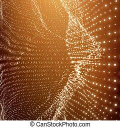 Lattice Structure. Network Technology Communication...