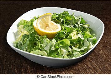 lattuga, limone, insalata