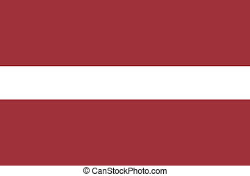 Latvia flag illustration of european country
