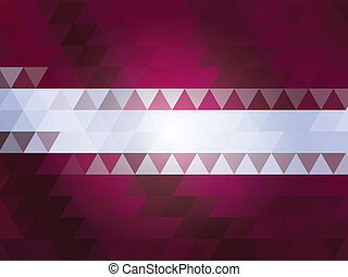 Latvia national flag of vector
