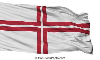Latvia Naval Ensign Flag Isolated Seamless Loop - Naval...