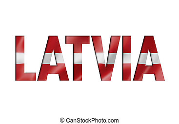latvian flag text font. latvia symbol background