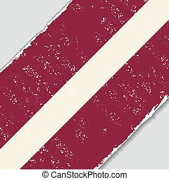 Latvian grunge flag. Vector illustration. - Latvian grunge ...