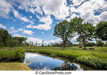 Latvian rural landscape