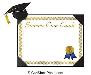 laude, summa, cum, dyplom, kolegium