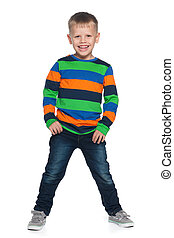 Laughing young boy