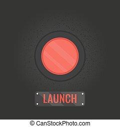 Launch button symbol
