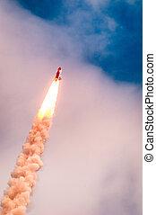 Launch of Atlantis-STS-135 - Launch of Atlantis STS-135 at...