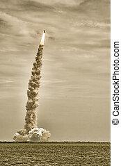 Launch of Atlantis - STS-135 - Launch of Atlantis-STS-135 at...