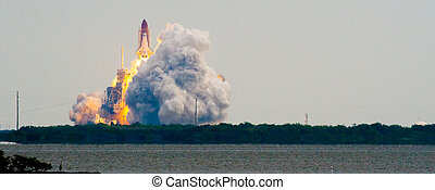 Launch of Endeavour STS134, Cape Canaveral, Brevard County,...