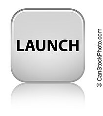 Launch special white square button