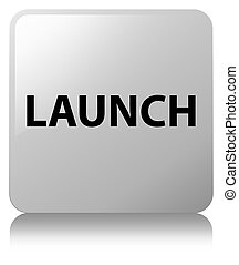 Launch white square button