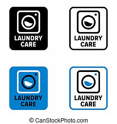 """""""Laundry care"""" wash, clean and fold service"""