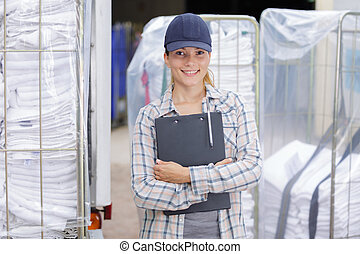 laundry delivery personnel