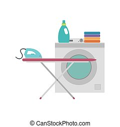 Laundry objetcts icons