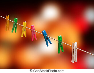 laundry pins