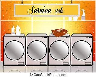 Laundry service 24 h
