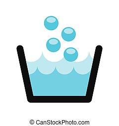 laundry service design, vector illustration eps10 graphic