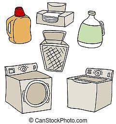 Laundry Set - An image of  laundry set.