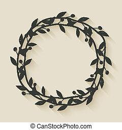 laurel award wreath