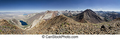 Laurel Mountain Summit Panorama