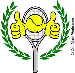 laurel, tenis